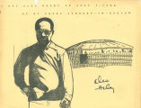 "Drawing autographed by Alex Haley. ""I met Alex Haley on July 3, 1980 at my local..."