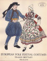 Prints, postcards and posters - - European folk festival costumes / State-wide Museum Extension...