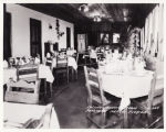 Photographs - - 1920 - - Pompano Casino Cafe  dining room.