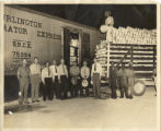 Photographs - - 1939 - - First train car of produce in Pompano.
