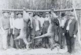 Photographs - - 1923 - 1925 - - Deer hunting party.