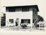 Photographs - - 1920 - - The Clark home and Annie Clark's Diner.