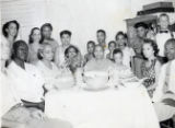 Photographs - - 1950s - - Mizell Family reunion.