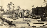 Photographs - - 1926 - - Home site after the Hurricane of 1926.