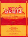 Menus - - 1980s - Betty's Soul Food Restaurant  menu.