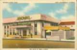 Postcards - - 1940s - - Brown's Good Food, Fort Lauderdale, Florida.