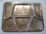 Artifacts - - 1943 - 1945 - - WW II mess tray.