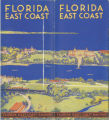 Brochures - - 1933 - - East coast of Florida.
