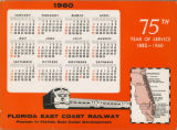 Calendars - - 1960 - - FEC desk calendar for 1960.