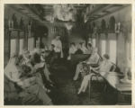 Photographs - - 1930s - - Interior of lounge car / photograph by Harry M. Wolfe.