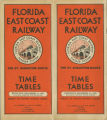 Timetables - - 1933 FEC timetable.
