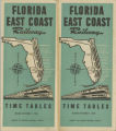 Timetables - - 1944  FEC timetable.