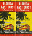 Timetables - - 1952 FEC timetable.