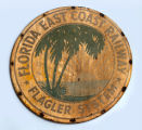Shields - - 1937 - 1961 - - FEC shield / Florida East Coast Railway.
