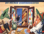 [POP-UP BOOK] Die Bremer Stadtmusikanten / [illustrated by V. Kubasta].