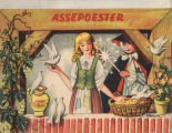 [POP-UP BOOK] Assepoester / [tekeningen door V. Kubasta]