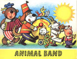[POP-UP BOOK] Animal band / illustrations by V. Kubasta.