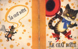 [CHILDREN'S BOOK] Le chat botte; d'apres C. Perrault; illustre par V. Kubasta.