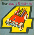 [POP-UP BOOK] [Counting series: 04] Four wheels to carry us / [Illustrated by V. Kubasta]