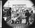 "Four Men with Catch From Fishing Boat ""Kingfisher"""