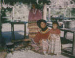 Seminole Woman Cooking
