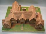 [Pennsylvania: Models, Architectural] Elizabethan Country House, England: Kenyon Peel Hall / WPA,...