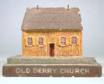 [Pennsylvania: Models, Architectural] Old Derry Church / WPA, Museum Extension [Project],...