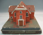 [Pennsylvania: Models, Architectural] Old Swedes Church / WPA, Museum Extension [Project],...