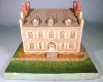 [Pennsylvania: Models, Architectural] Georgian, 1826-19--: Eagle Hotel, Waterford, PA / WPA,...