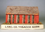 [Pennsylvania: Models, Architectural] Lanc. Co. tobacco barn.