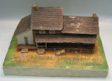 [Pennsylvania: Models, Architectural] Nixon Tavern, 1810: Fairchance, Pa. /  W.P.A., Pittsburgh,...