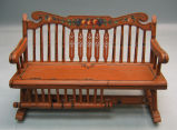[Pennsylvania: Models, Furniture] Settee, Rocker: unit #1 / Museum Extension Project, WPA, #7.