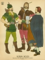 [Pennsylvania: Costume Plates] Robin Hood [set of 5 plates]