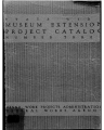 [Pennsylvania: Pamphlets and Handbooks] State-Wide Museum Extension Project Catalog (The)