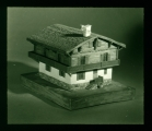 [Pennsylvania: Lantern Slides] Nationalistic Dwellings [incomplete set of 4 lantern slides]